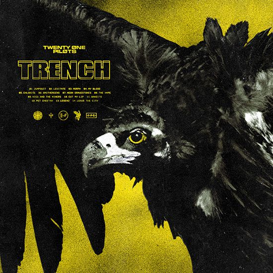 twenty one pitlos trench album cover